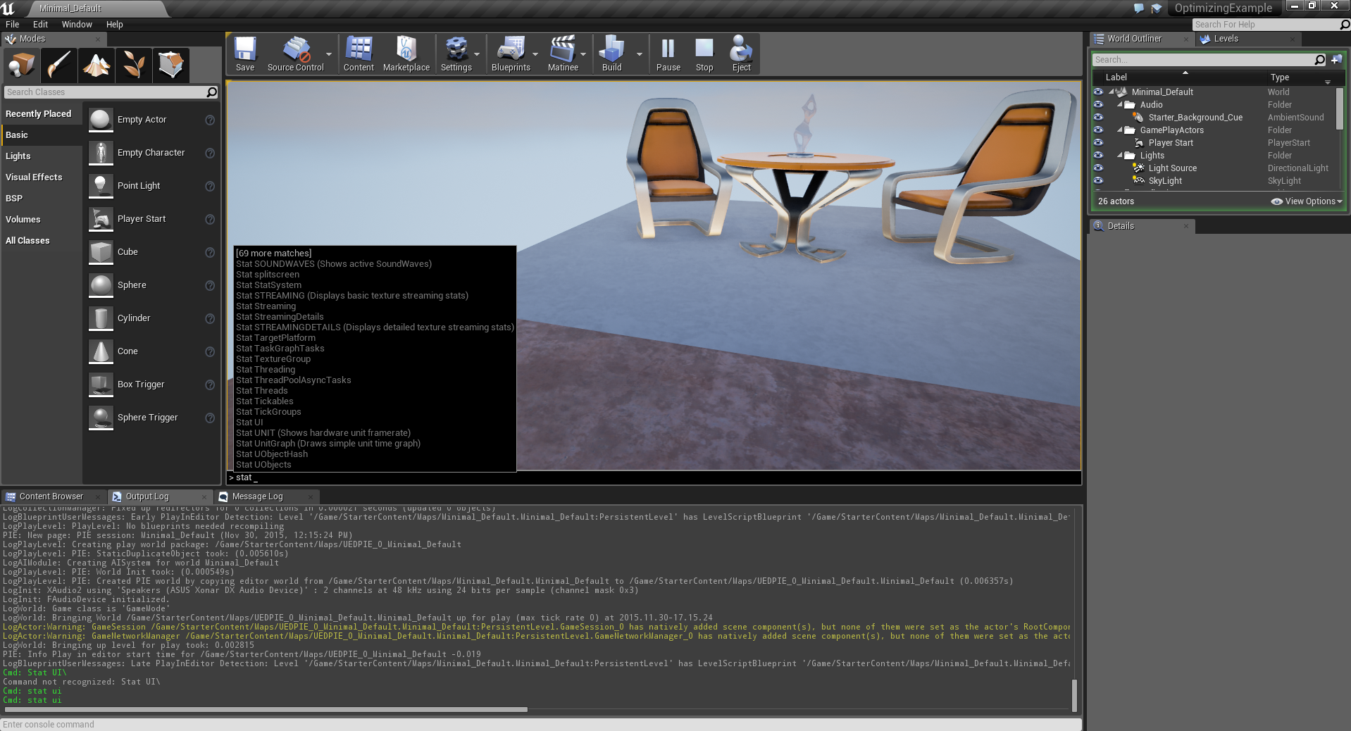 Optimizing and Profiling Games with Unreal Engine 4